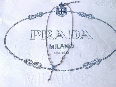 精品專櫃古銅水晶鑽飾ANNA SUI 款寶石項鍊