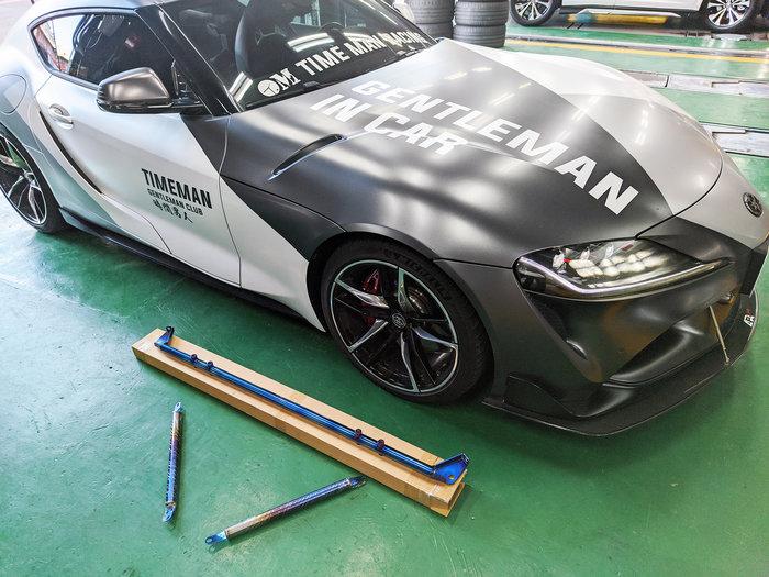 JK Racing 精品 TOYOTA SUPRA A90 鈦合金 行李箱拉桿