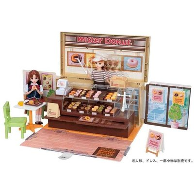 [Child's shop]  莉卡 Mister Donut 甜甜圈禮盒組 (附莉卡娃娃一隻) LA87725