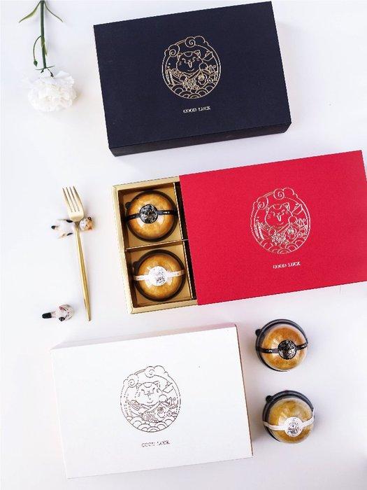 【berry_lin107營業中】新年招財貓禮盒日式雪花酥中秋月餅盒蛋黃酥盒餅干雪媚娘包裝盒