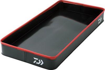 【NINA釣具】DAIWA TACKLE TRAY LL(A) 車用置物盒/多功能托盤 汽車防水墊 黑色