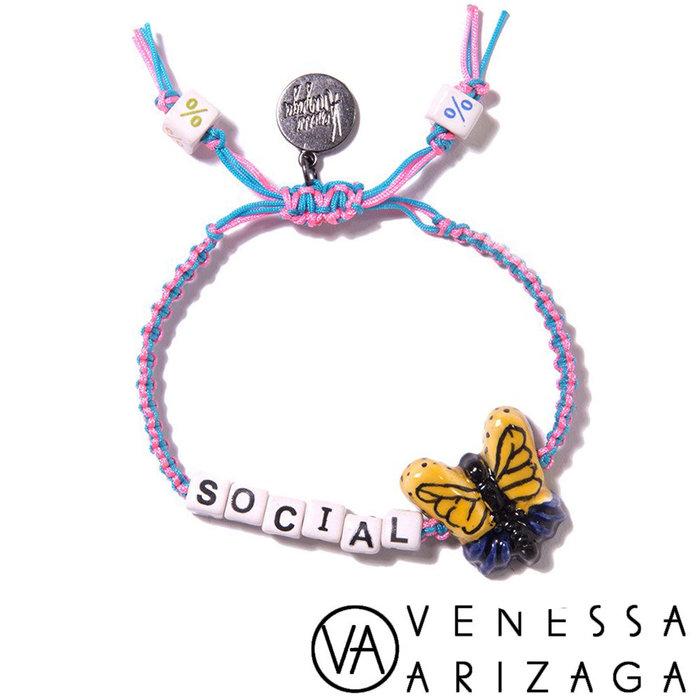Venessa Arizaga SOCIAL BUTTERFLY BRACELET 彩色手鍊