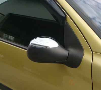 IDFR ODE 汽車精品 寶獅 PEUGEOT 206 鍍鉻後視鏡蓋