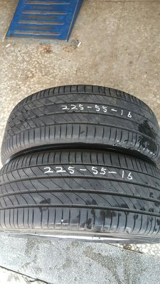 中古胎 米其林 MICHELIN  225/55/16 CSC5 CSC3 PS3 PSS P1