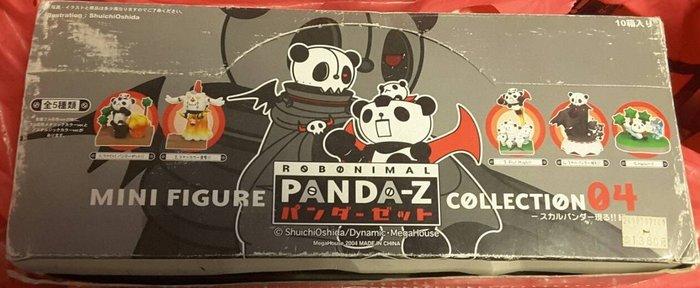 熊貓鐵金剛 PANDA-Z MINI FIGURE COLLECTION 04 (一組內含10隻)