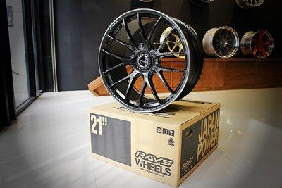 [御成國際] 日本 Rays  Volk Racing G27 單片式 鍛造 鋁圈 Porsche Macan 21吋