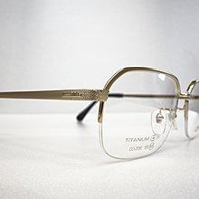 【台南中國眼鏡】CORDIAL 傳統 紳士框 純鈦 日本製 不過敏 不腐蝕 半框 金 爸爸 爺爺 鏡架 206