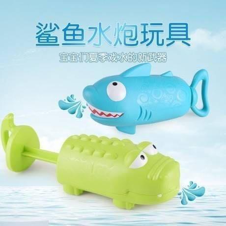 呆萌鯊魚水泡玩具