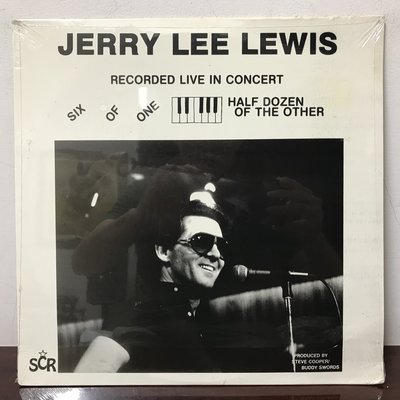 晨雨黑膠【西洋】全新美版/Jerry Lee Lewis – Six Of One Half Dozen Of...