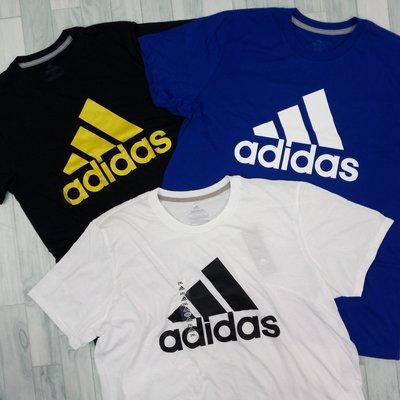 7598 CI5 三款 Adidas 男版 短袖 上衣 短T T恤 三條線 圓領 保證正品~