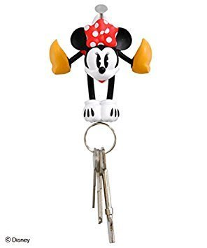 *Miki日本小舖*日本㊣版迪士尼Minnie 米妮造型鑰匙掛飾/磁鐵吊鉤/鎖匙掛勾/吊飾
