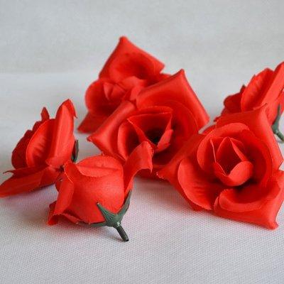 仿真花 人造玫瑰花朵 可搭配蠟燭擺飾 素材 拍照道具 婚禮道具 布置 排字告白求婚 裝飾