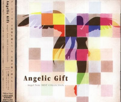 K - Angelic Gift Angel Note BEST COLLECTION 日版 NEW 中山(ハート)マミ