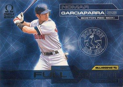 (T)紅襪明星游擊手 Nomar Garciaparra 2000 Omega Full Count 特卡