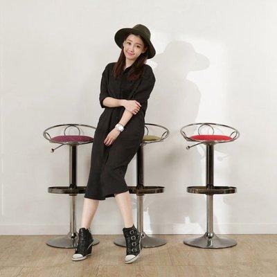 書房/客廳【澄境】YC-BS102 愛麗斯皇冠寶座吧檯椅 古典高腳椅 工業風 三色可選