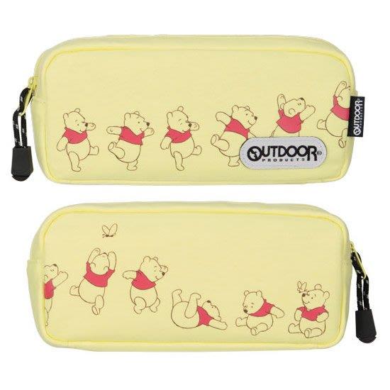 41+現貨免運費 OUTDOOR 迪士尼 筆袋 化妝包 日本帶回 小熊維尼 美人魚 愛麗絲小日尼三 畢業 開學 特價