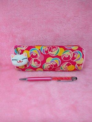 70-招財貓鉛筆盒(桃紅色) 鉛筆盒