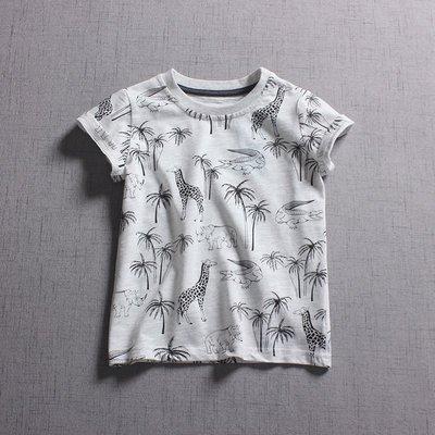 【Mr. Soar】 **清倉** H231 夏季新款 歐美style童裝男女童短袖T恤 現貨