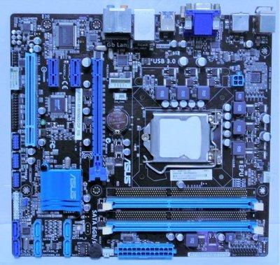 電腦雜貨店→華碩 P8H61-M/ BM6630/ DP_MB 1155主機板 DDR3 顯示 usb3.0$550 新北市