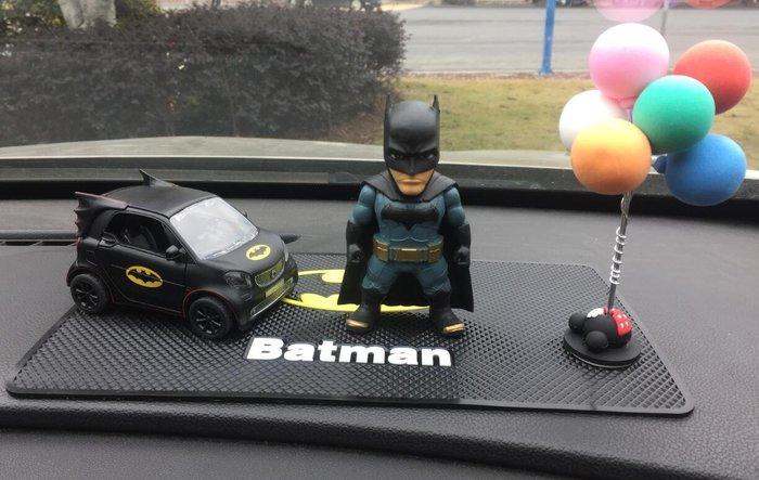 汽車世家 模型擺件鋼鐵俠手辦蝙蝠俠手辦反浩克裝甲模型汽車車載擺件鋼鐵俠美隊