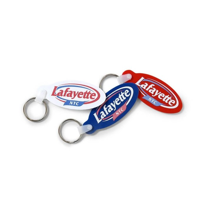 { POISON } LAFAYETTE KEEP FRESH LOGO RUBBER KEY CHAIN 復古橡膠鑰匙