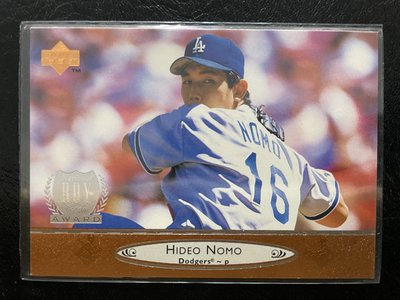野茂英雄 Hideo Nomo 1996 UD #95