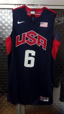 Nike Lebron James 球員版 電繡 球衣 2012 倫敦奧運 Jordan KD Curry Kyrie