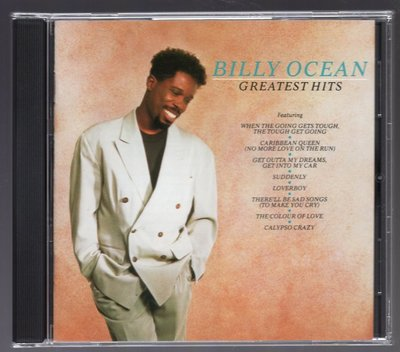 Billy Ocean - Greatest Hits 80歐舞日版(加歌) u46 Licence To Chill