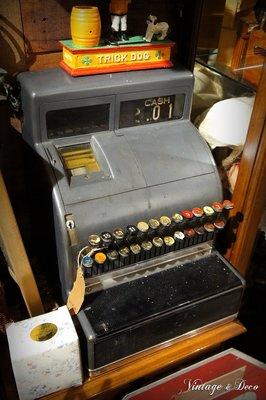 美國古董老收銀機 復古收銀機 舊式收銀機 [SPECIAL-0084] 復古家飾 擺飾 收藏 裝飾品 二手 老件 復古風