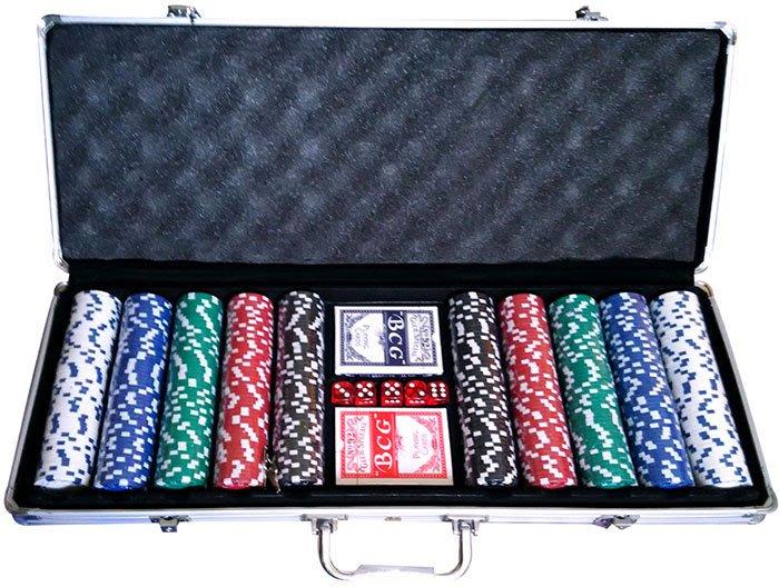 [宅大網] 191703 籌碼500 鐵盒 手提箱 撲克牌 骰子 鑰匙 桌遊 紙牌遊戲 押注 下注 比大小