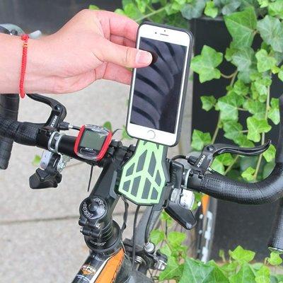 自行車手機架電瓶車機車電動摩托車用外賣騎行固定防震導航支架CLZB5674