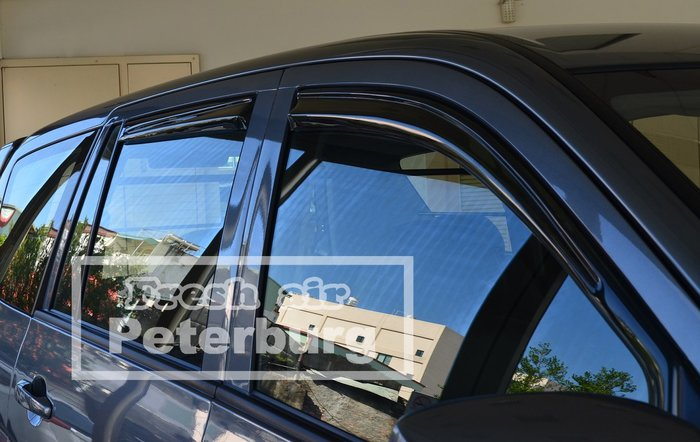 **LW新造型**比德堡崁入式晴雨窗 三菱 Zinger  LW系列 2005年起專用 (全車四片價)