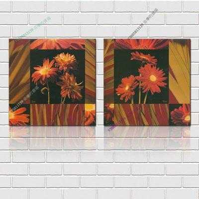 【40*40cm】【厚2.5cm】印象花卉-無框畫裝飾畫版畫客廳簡約家居餐廳臥室牆壁【280101_181】(1套價格)