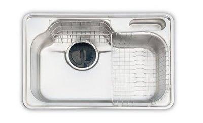 (YOYA)大久鼎 DS750 韓國進口藝術水槽 廚房流理台用 ST水槽 不鏽鋼水槽☆來電特價☆台中水槽、豐原水槽、彰化