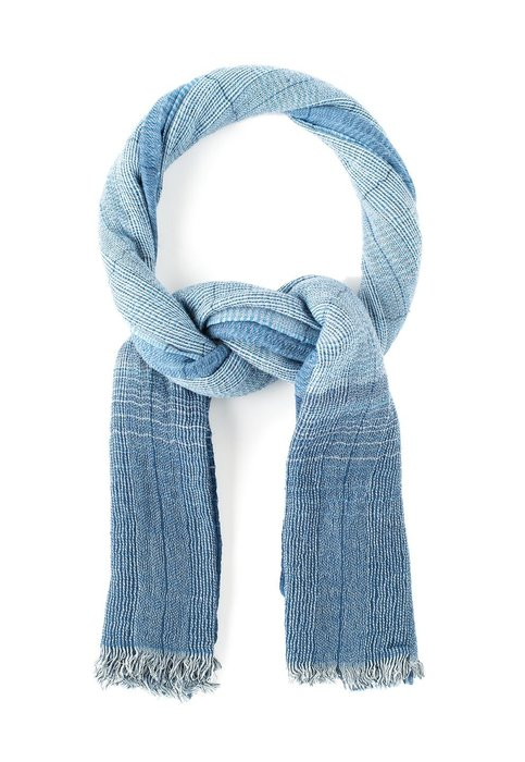napapijri純藍羊毛圍巾 - N0Y9TCC68 - 周董的店
