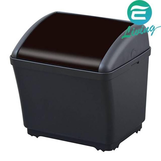 【易油網】SEIWA 防傾倒垃圾桶 W935