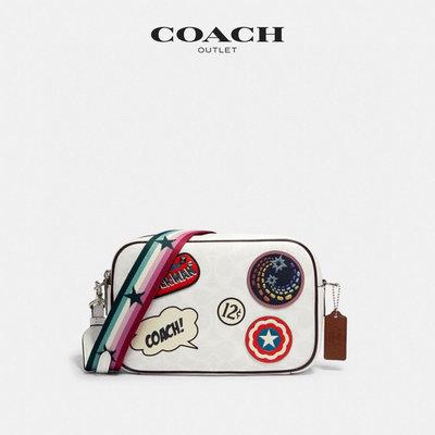 ㊣國際品牌COACH庫㊣美國代購COACH 2538【2件免運】COACH X MARVEL系列斜背包相機包 附購買證明