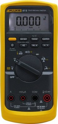 [捷克科技] 福祿克 FLUKE 87-V 87-5 工程級數位萬用電錶 美國 20000counts T-rms 專業電錶儀錶