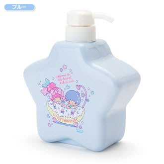 4165本通 星型乳液擠壓瓶-TS 雙子星 甜蜜沐浴 藍 4901610568712