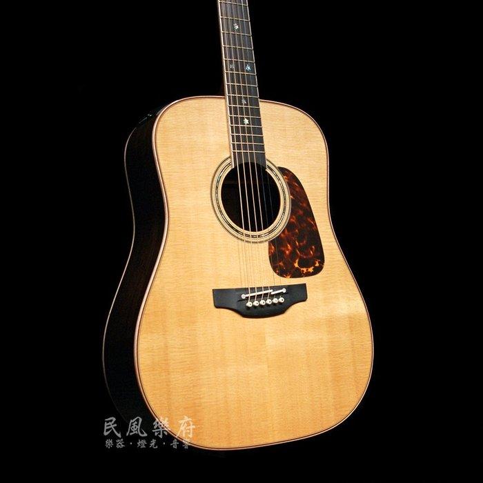《民風樂府》Takamine P7D 日本廠 最頂級 玫瑰木側背板 真空管前級 全單板電木吉他  無息分期 歡迎議價