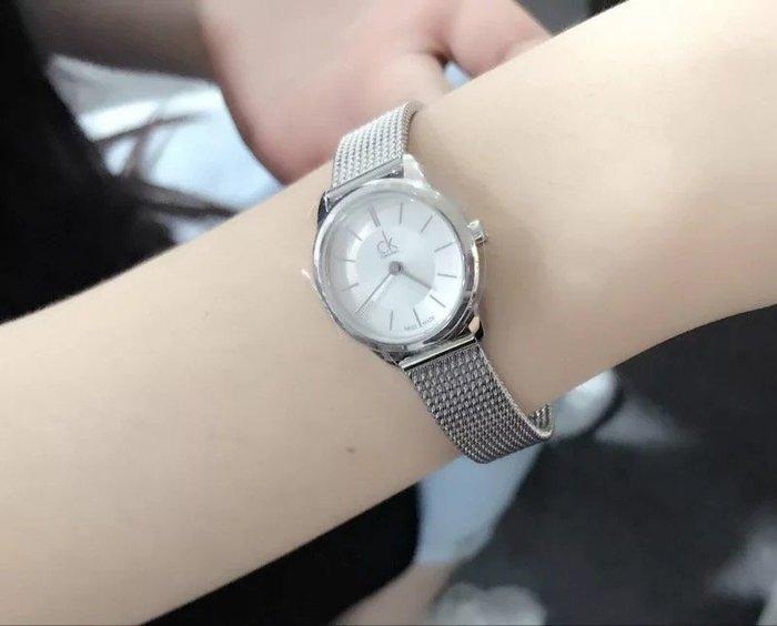 全新正品 calvin klein CK 女錶_K3M23126_DW 米蘭錶帶 23MM 有出男款 40CMM 對錶