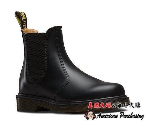 美國大媽代購 Dr.Martens 馬汀鞋 經典 2976 短靴 霧黑色 時尚龐克 經典搖滾靴 男女靴 歐美代購