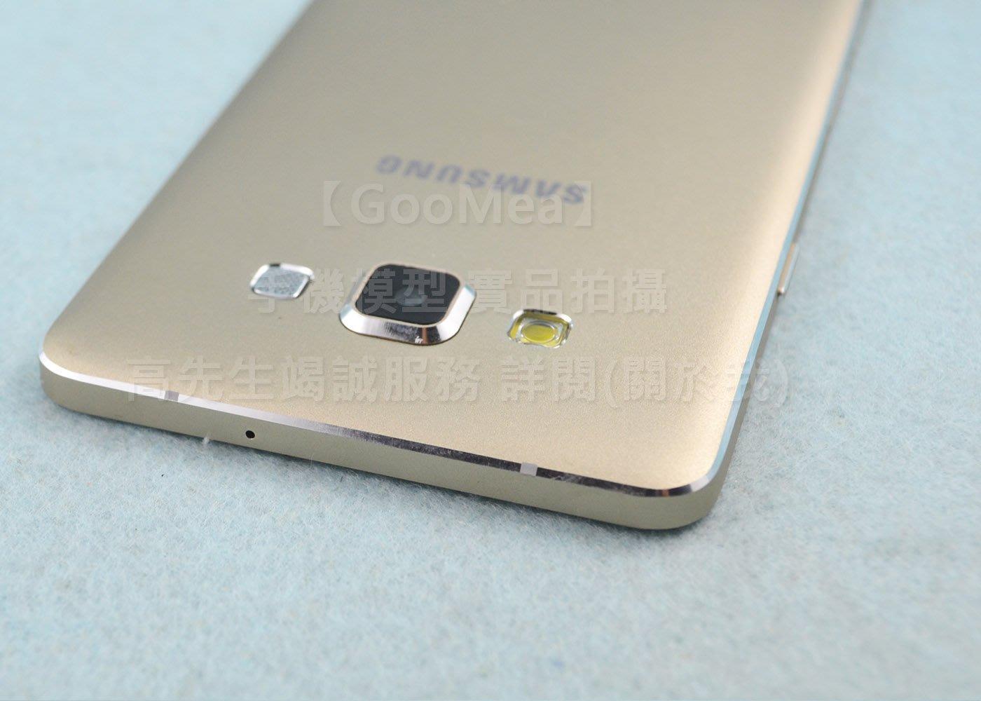 【GooMea】原裝 黑屏Samsung三星Galaxy A7 2015模型展示樣品包膜dummy摔機整人假機交差1:1