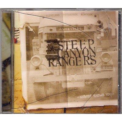 【全新未拆,殼裂】Steep Canyon Rangers 峽谷巡警樂團:Nobody Knows You 默默無聞