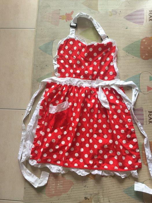 全新正版迪士尼米妮造型圍裙