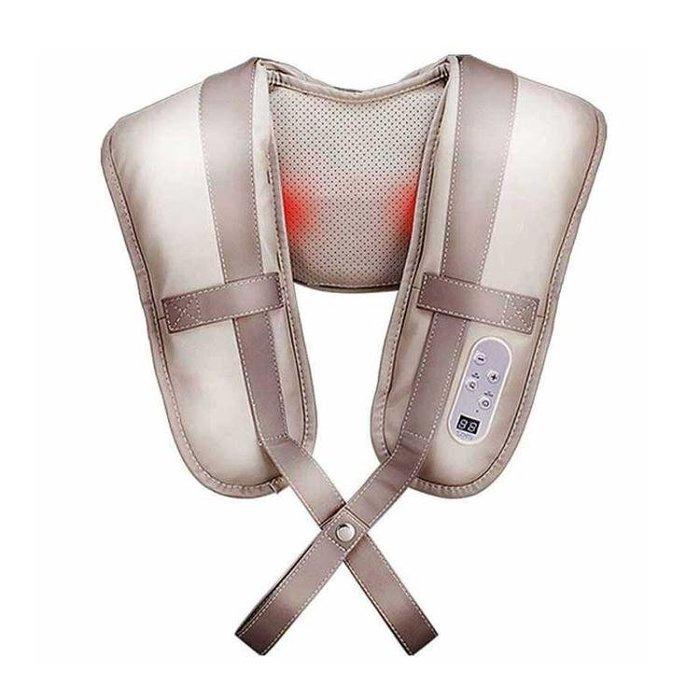 [Skg]按摩披肩 肩頸捶打頸椎按摩器頸部腰部肩部多功能頸肩按摩儀igo