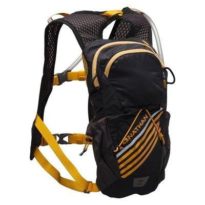 NATHAN - Firestorm二鐵專用水袋背包(2L)黑,買就送Fixpoints德國號碼布磁扣