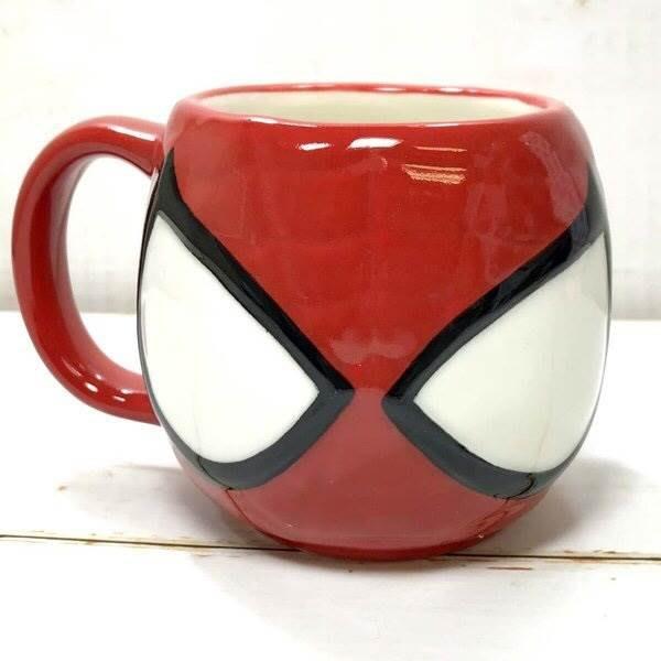 【莓莓小舖】正版 ♥ Marvel 漫威英雄  蜘蛛人 復仇者聯盟造型馬克杯