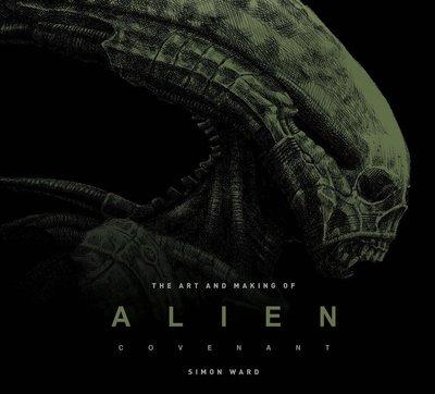 毛毛小舖--異形 聖約 電影美術設定集 精裝版 Alien: Covenant