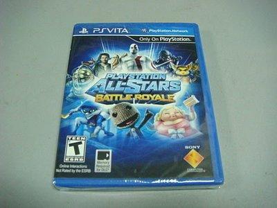 遊戲殿堂~PSVita『PlayStation明星大亂鬥』美版全新品